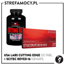 Zestaw USA LABS Cutting Edge + SCITEC Revex-16