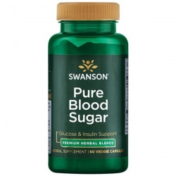 SWANSON Pure Blood Sugar 60 vcaps.