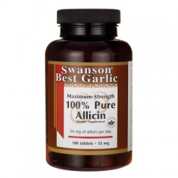 SWANSON Pure Allicin 12mg 100 tabl.