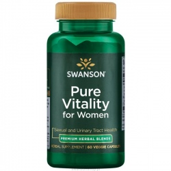 SWANSON Pure Vitality For Women 60 kaps.