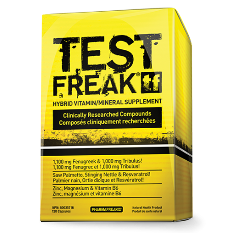 PHARMA FREAK Test Freak 120 kaps.
