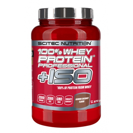 SCITEC 100% Whey Protein Professional + ISO 870 g